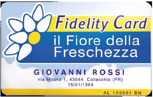 Raccolta Punti Il Fiore Della Freschezza 2018 - Fidelity Card Parmalat